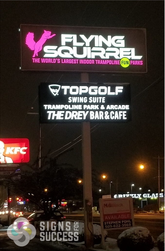 Backlit & Illuminated Signs - Signs for Success