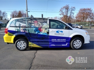 custom van wrap spokane