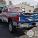 patriotic wrap, truck wrap features American flag graphics