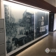 indoor wall murals add interest to the Avista Jimmy Dean Center in Spokane