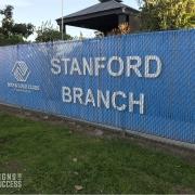 Custom Printed Chain Link Fence Slats