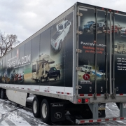 Semi Trailer Full Wrap